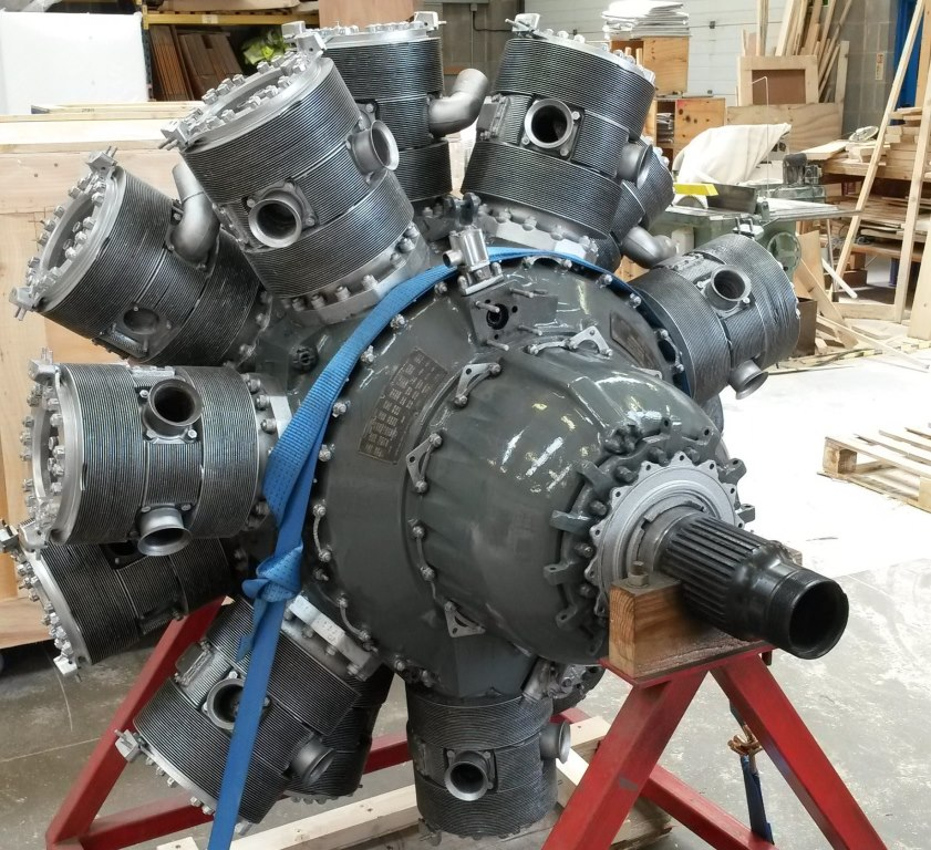Hercules Wwii Engine Packed Shipped Advance Forwarding
